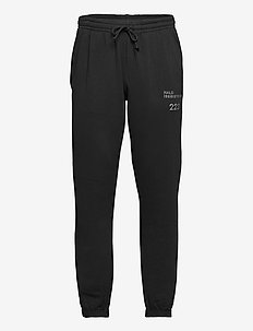 HALO Cotton Sweatpant - treenihousut - black