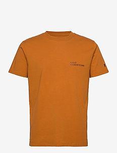 HALO Cotton Tee - t-shirts - rust orange