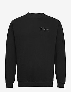 HALO Cotton Crew - basic-sweatshirts - black