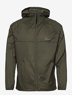 HALO Packable Jacket - sportsjakker - oil green