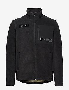 HALO FLEECE JACKET - swetry pluszowe - black