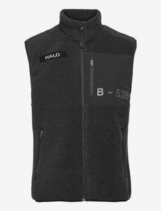 HALO FLEECE VEST - vestes d'extérieur et de pluie - black