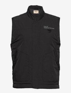 HALO PADDED GILET - vestes d'entraînement - black