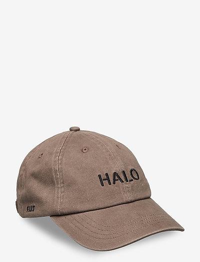 HALO CAP - mössor & kepsar - vintage brown