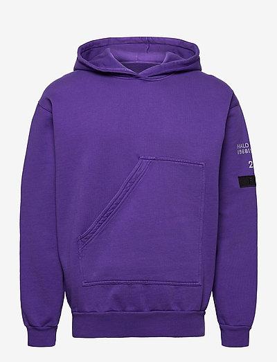 HALO Cotton Hoodie - sweats basiques - purple