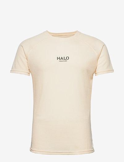 HALO Military Tee - kortærmede t-shirts - tapioca