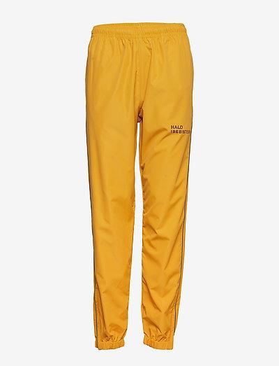 Halo Track Pants - pantalons - mustard