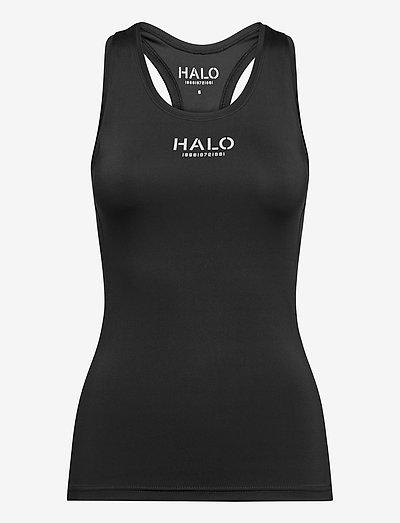 HALO WOMENS RACERBACK TANK - Ärmellose tops - black