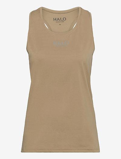 HALO WOMENS RACERBACK TANK - toppar & t-shirts - kelp