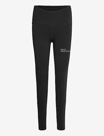 HALO WOMENS HIGHRISE TIGHTS - tights & shorts - black