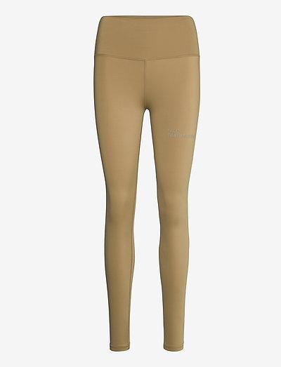HALO WOMENS HIGHRISE TIGHTS - tights & shorts - kelp