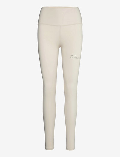 HALO WOMENS HIGHRISE TIGHTS - sportleggings - pumice stone