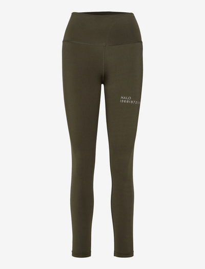 HALO WOMENS HIGHRISE TIGHTS - tights & shorts - winter moss