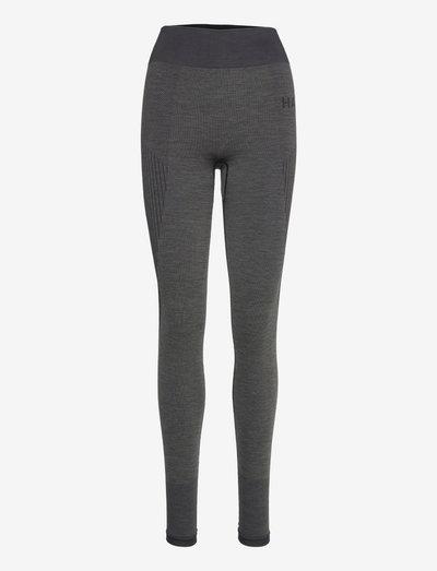 HALO WOMENS SEAMLESS TIGHTS - tights & shorts - black