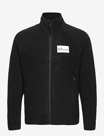 HALO ATW Zip Fleece - pulls en tissu peluche - black