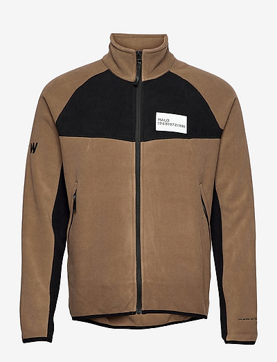 HALO ATW Zip Fleece - sweatshirts & hoodies - vintage brown