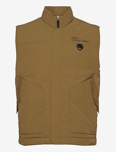 HALO Paddad Gilet - sports jackets - nutria