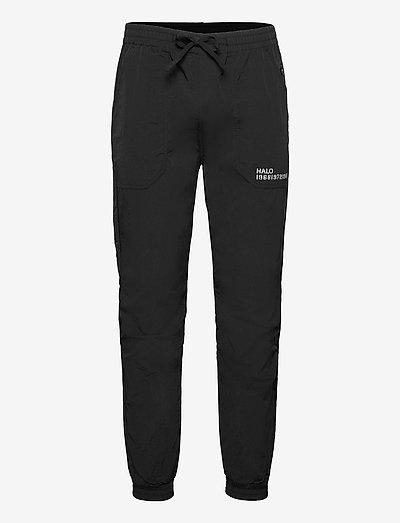HALO NYLON PANT - urheiluhousut - black