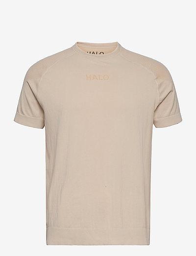 HALO Seamless Tee - t-shirts à manches courtes - bone white