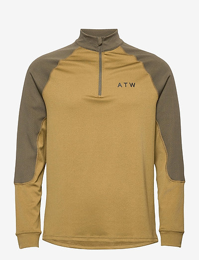 HALO ATW HALF ZIP - sweaters - nutria
