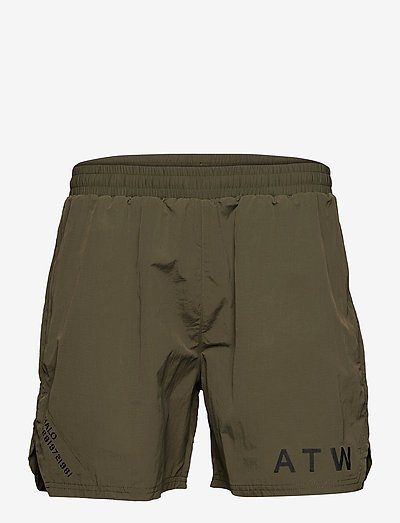 HALO ATW SHORT - chaussures de course - olive night