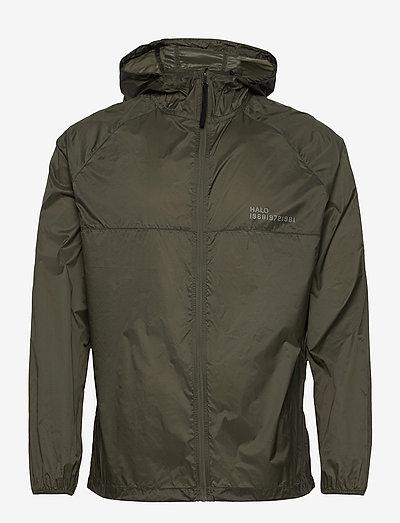HALO Packable Jacket - sportjacken - oil green