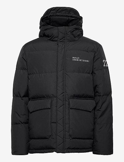 HALO DOWN PUFFER - vestes matelassées - black