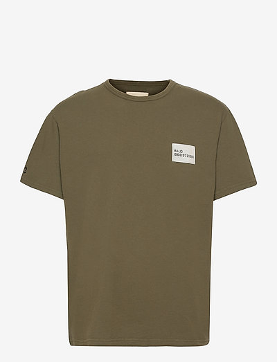 HALO HEAVY COTTON TEE - t-shirts à manches courtes - winter moss