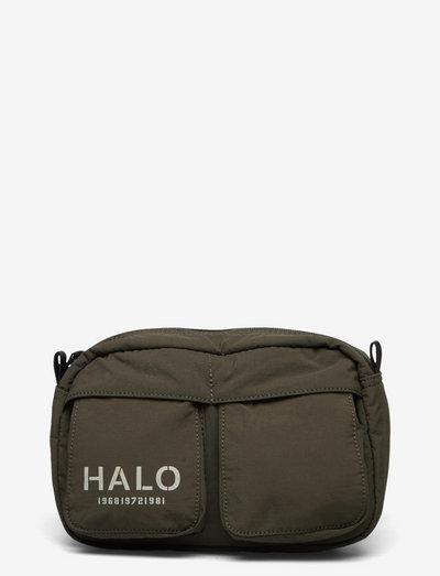 HALO NYLON WAIST BAG - sport - ivy green