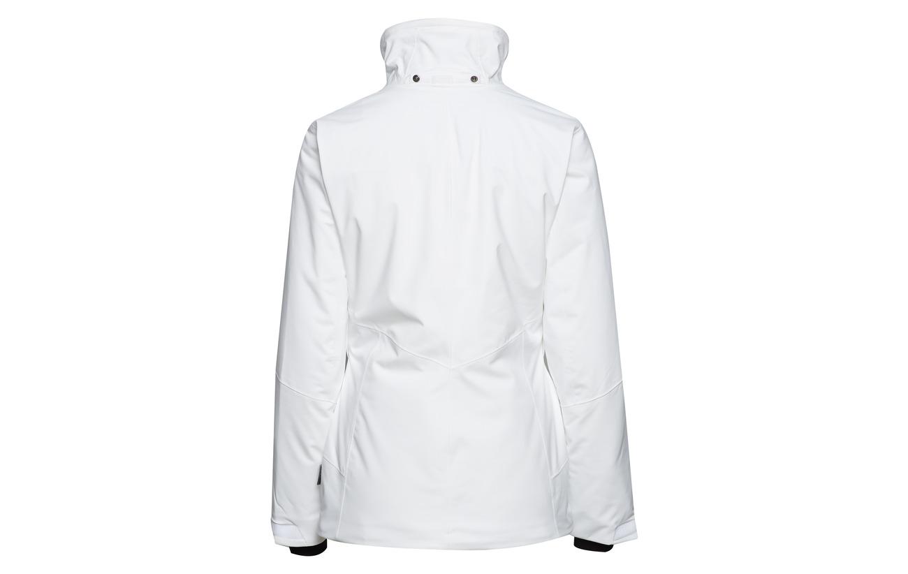 Inside W Équipement White 35 Stretch Lin Nylon Fausse Détails Ultimate Polyamide Halti 2 way At 65 Intérieure Détail Fourrure Polyester Polyester Doublure Dx Collar Ski Elega Jacket Coton Drymaxx® Eco 100 7wxq5a1