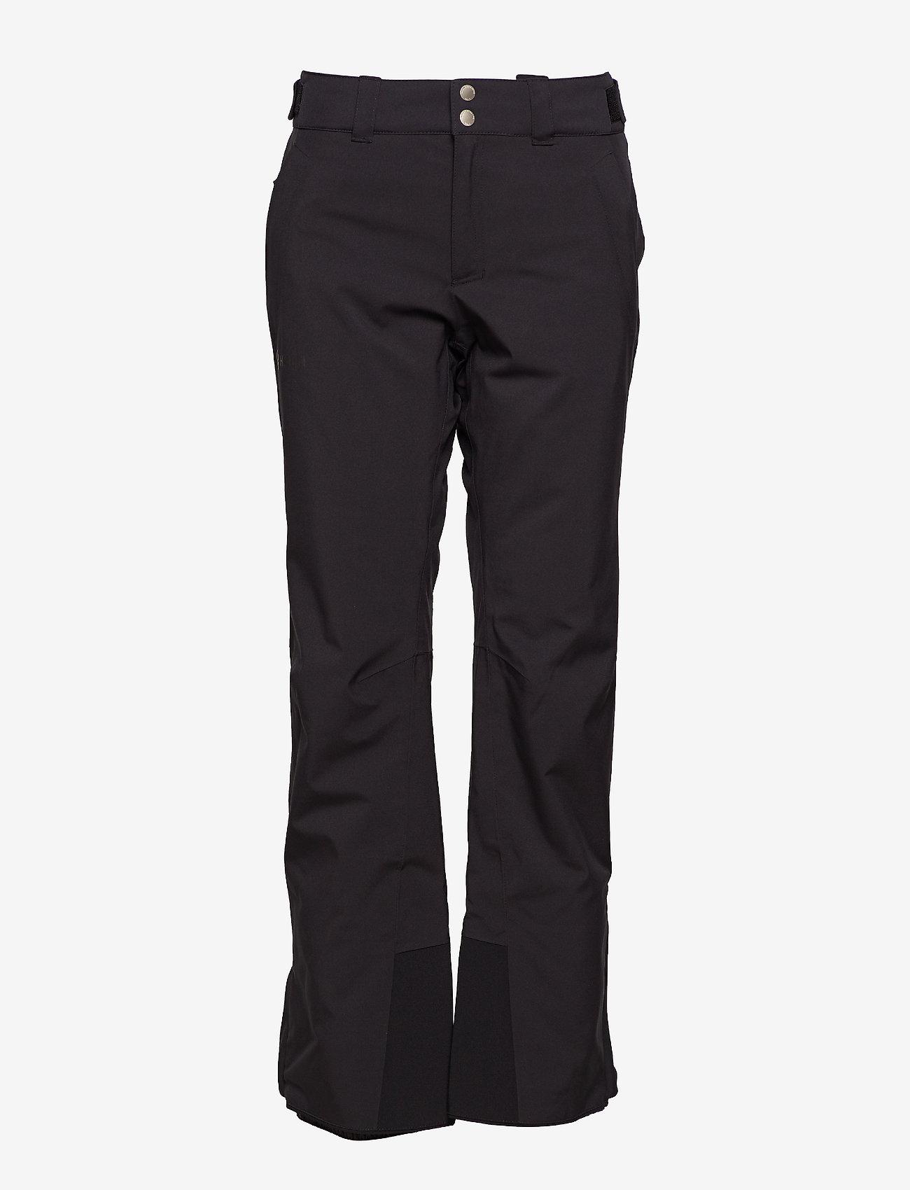 Halti - Puntti II W DX ski pants - insulated pants - black - 0