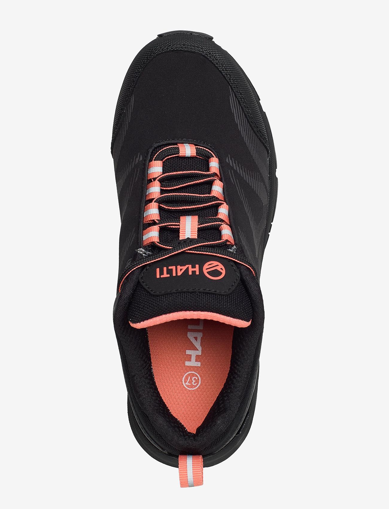 Myre Women's Low Drymaxx Outdoor Shoes (Black) - Halti