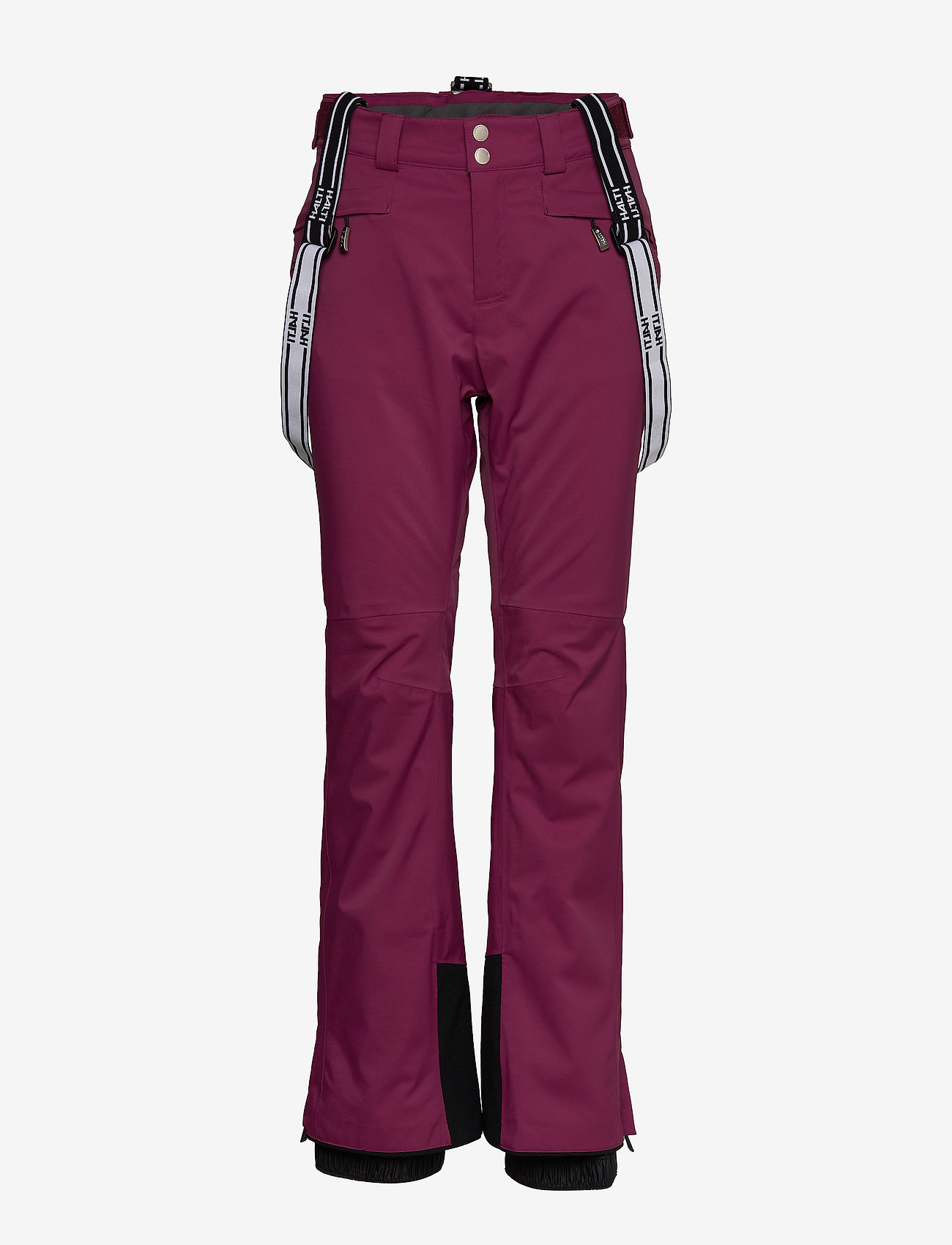 Halti - Podium Women's DX Ski Pants - insulated pants - plum purple - 0