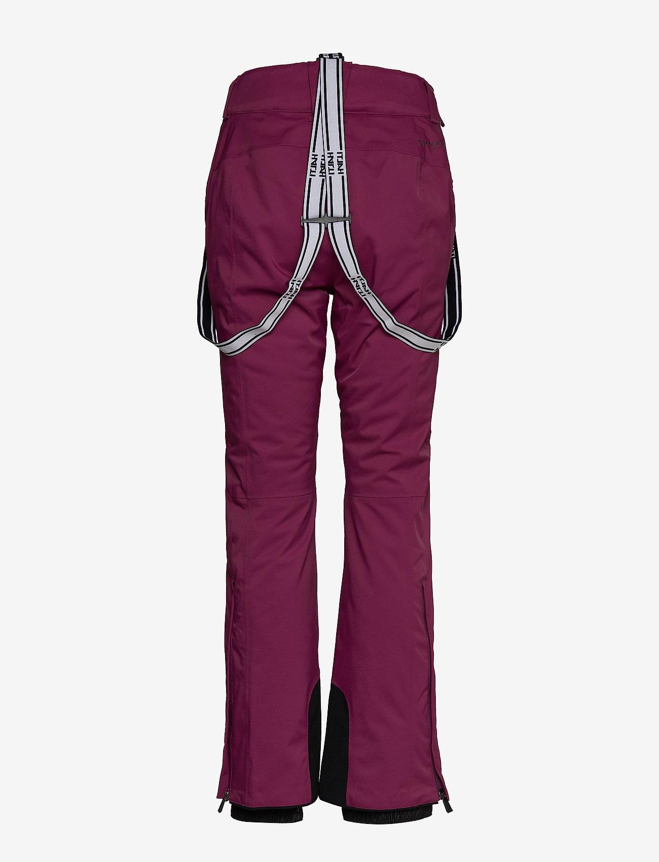 Halti - Podium Women's DX Ski Pants - insulated pants - plum purple - 1