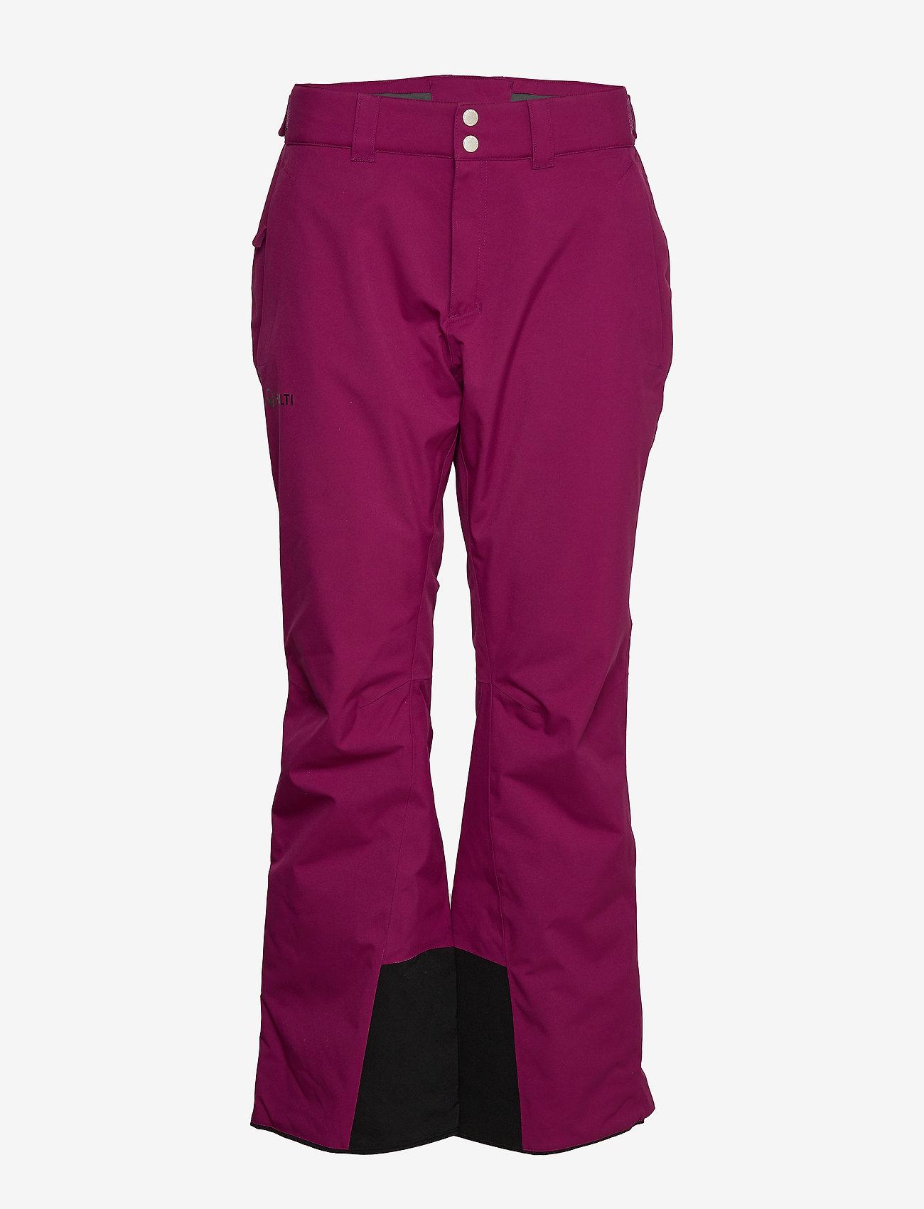 Halti - Puntti II W+ DX ski pants - insulated pants - magenta purple - 0