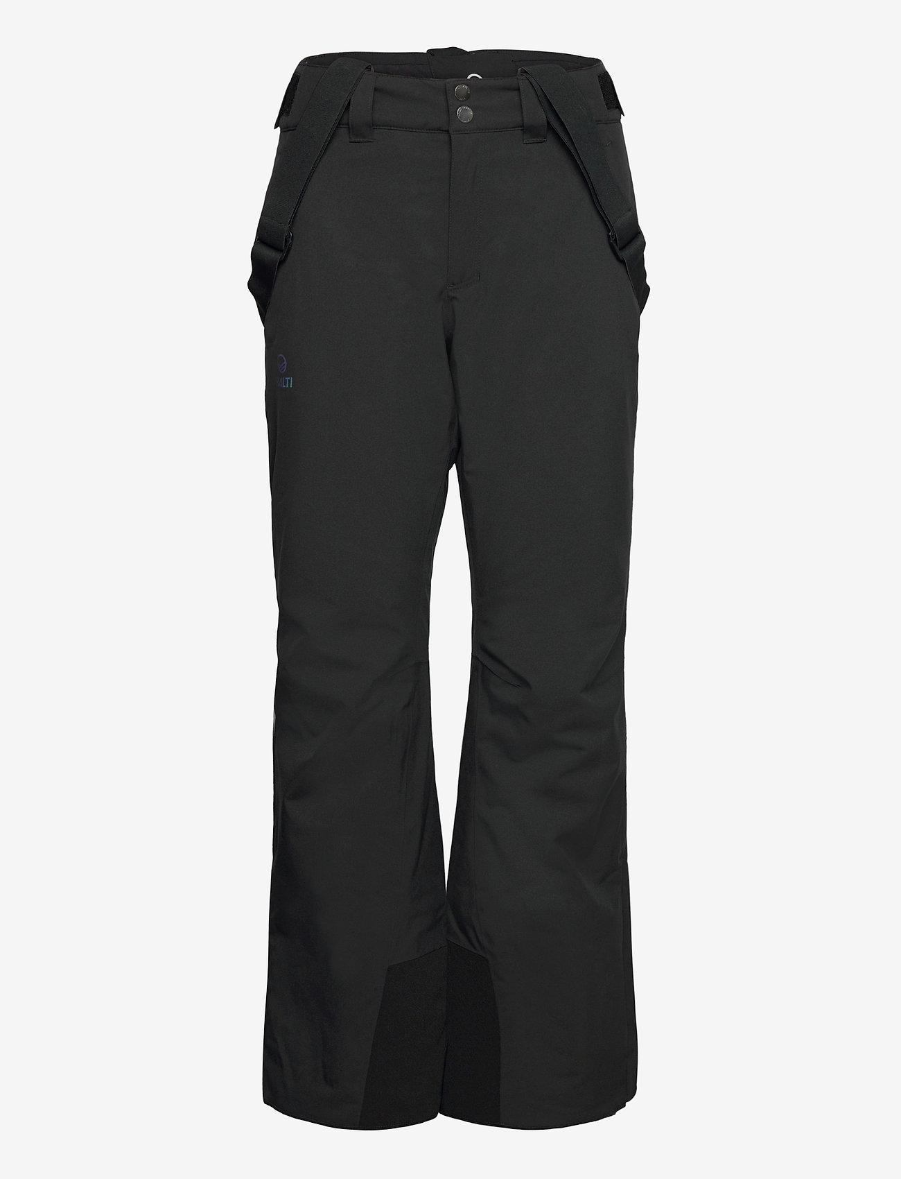 Halti - Puntti Recy W DX ski pants - skibroeken - black - 1