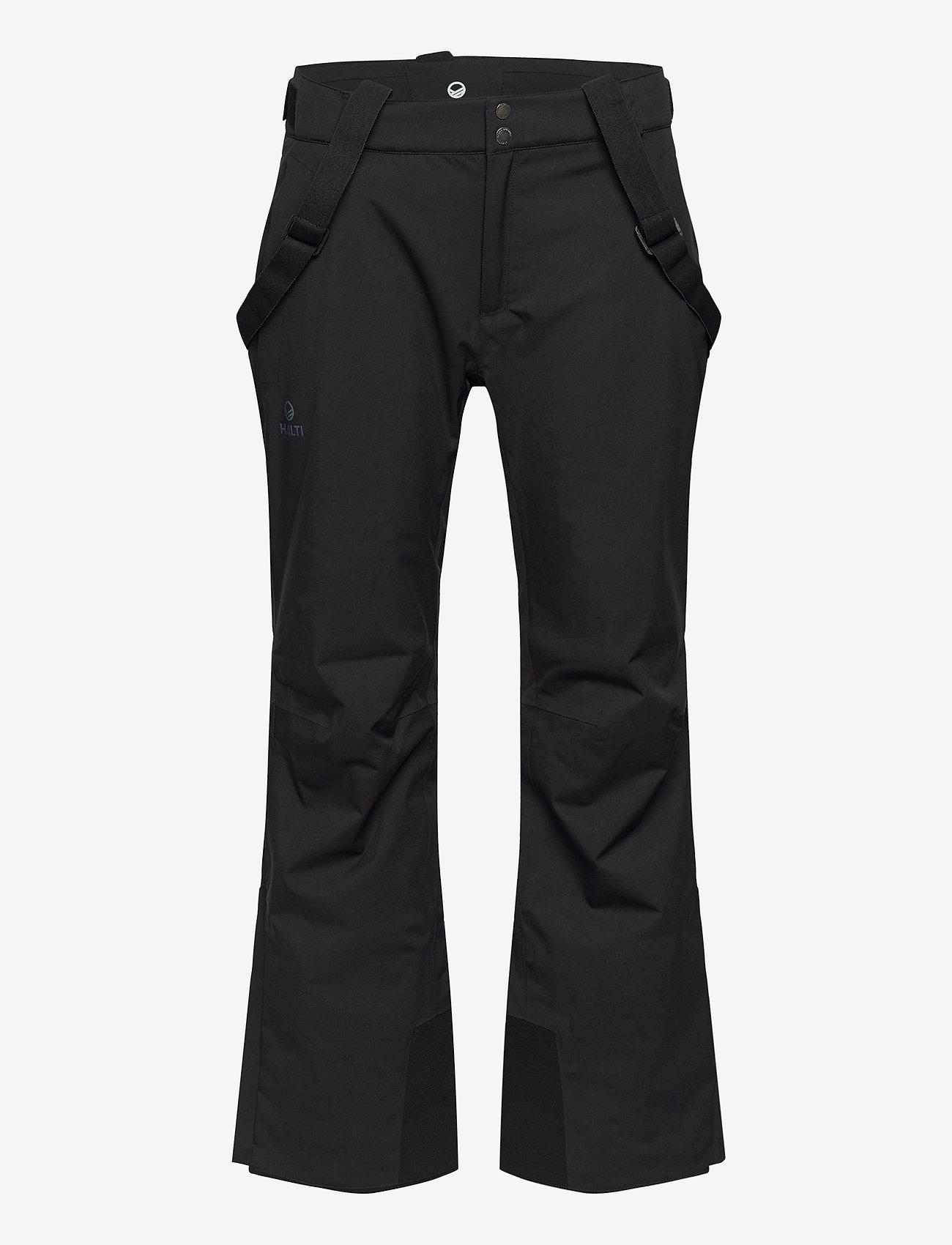 Halti - Puntti Recy M DX ski pants - pantalons de ski - black - 0