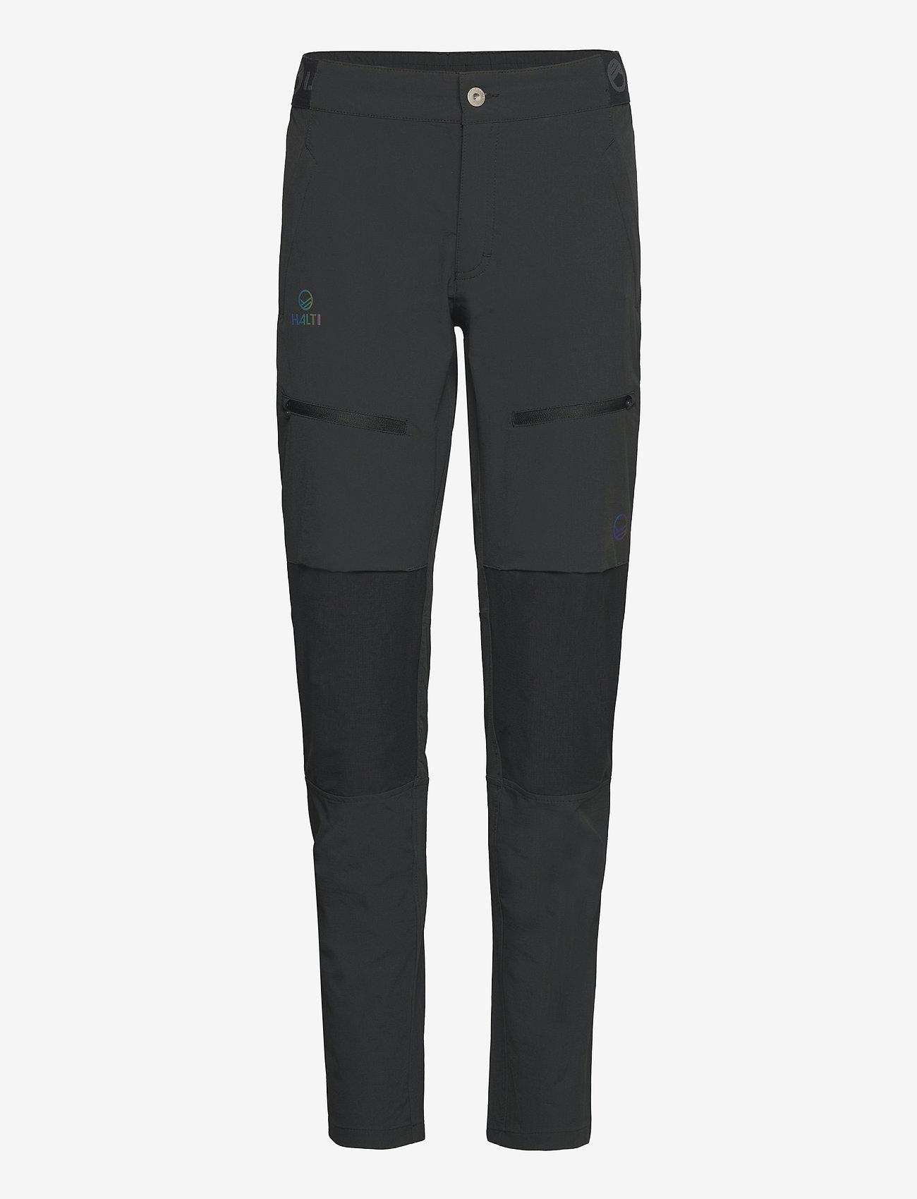 Halti - Pallas II Women's X-stretch Pants - friluftsbukser - anthracite grey - 0