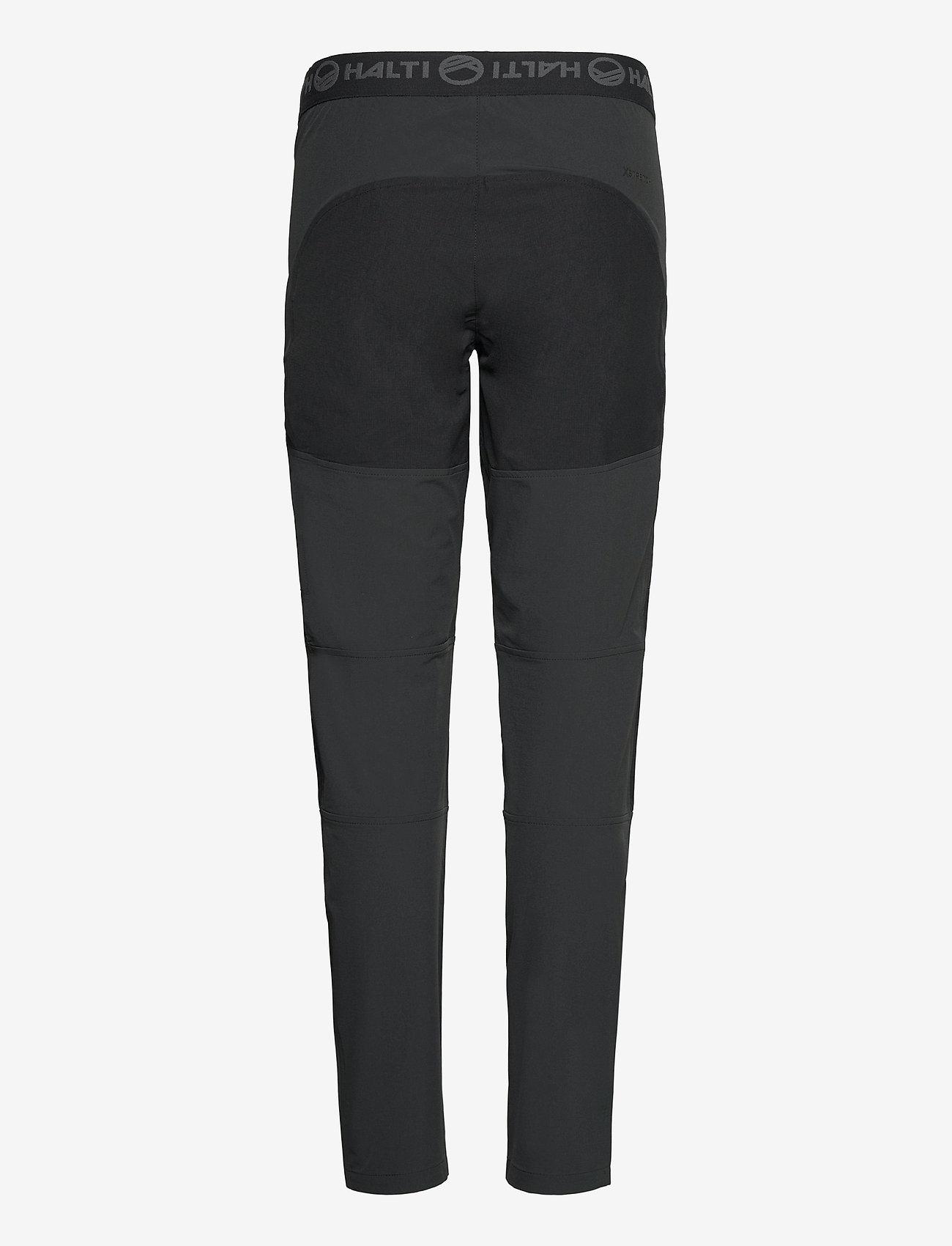 Halti - Pallas II Women's X-stretch Pants - friluftsbukser - anthracite grey - 1