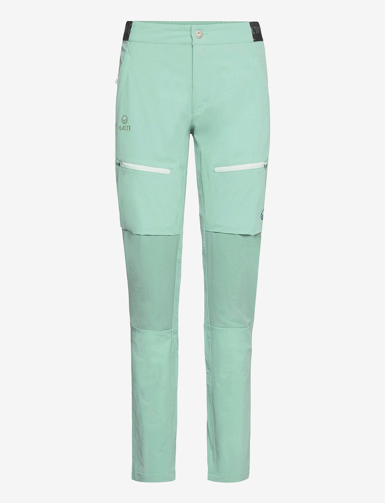Halti - Pallas II Women's X-stretch Pants - wandelbroeken - canton green - 0