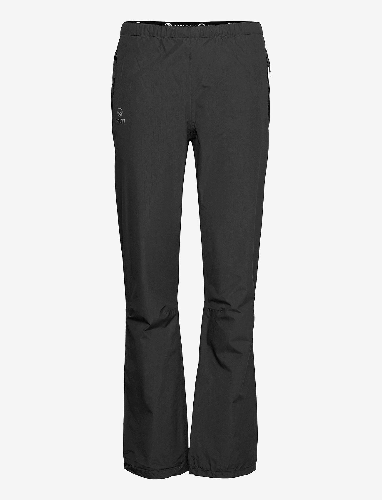 Halti - Fort Women's DrymaxX Shell Pants - friluftsbukser - black - 0