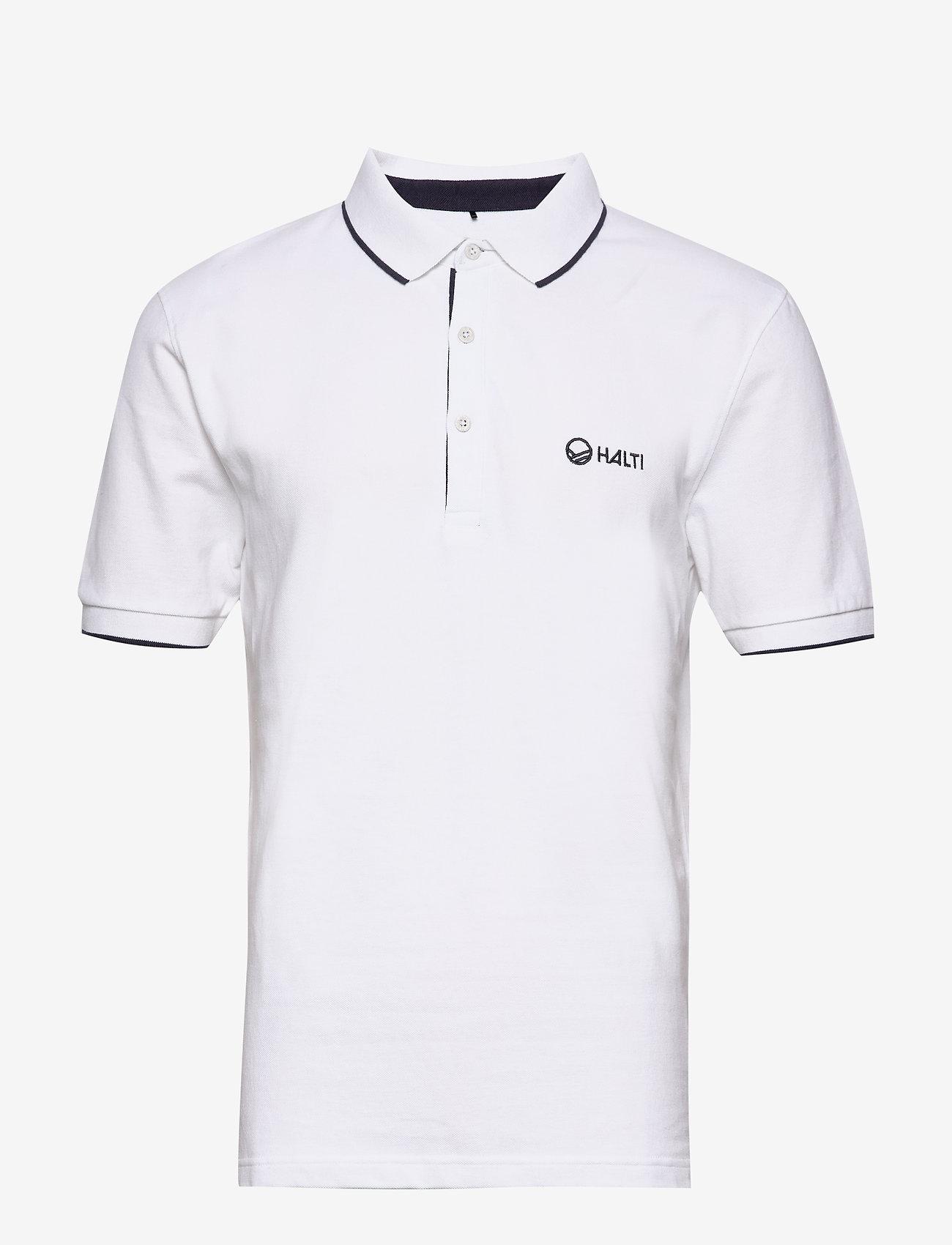 Halti - Lari Men's Polo shirt - kurzärmelig - white - 0