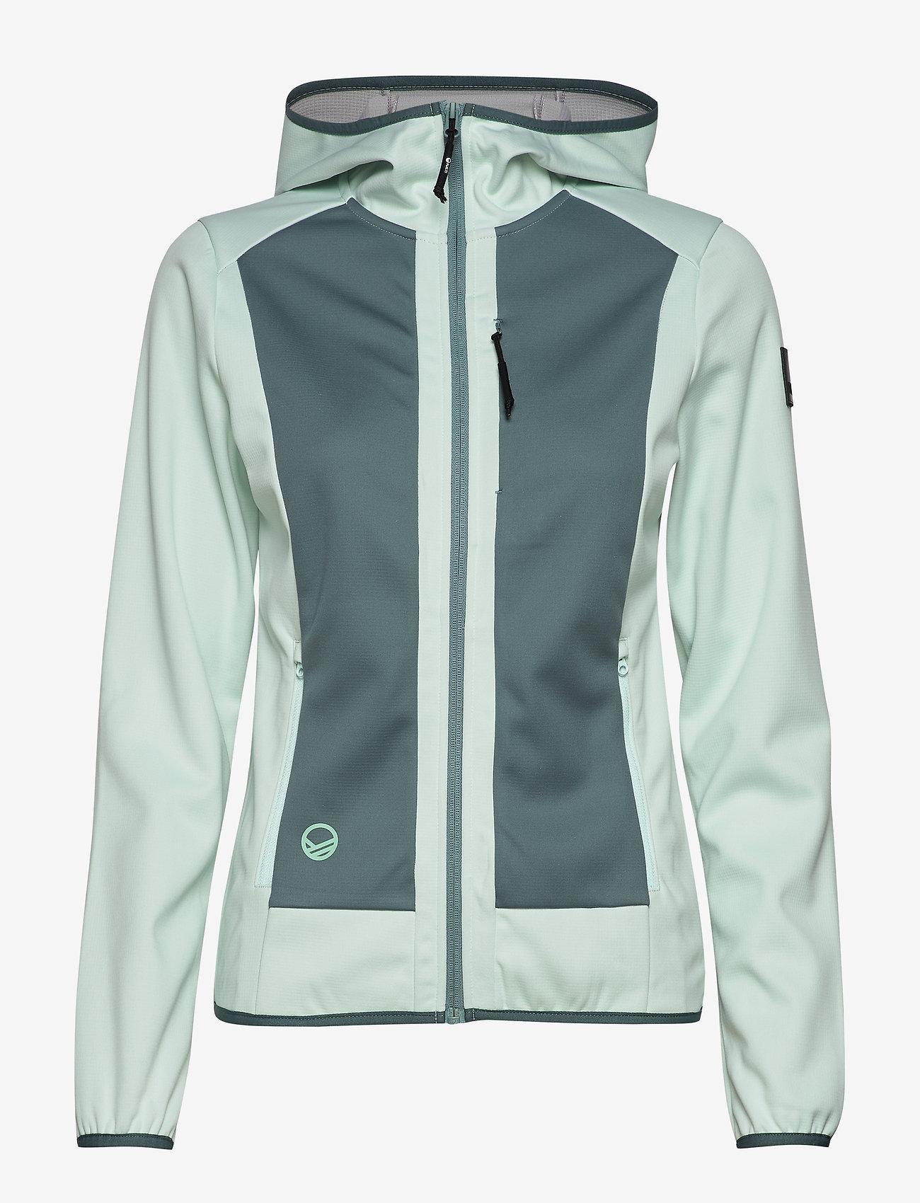 Halti - Sointu W softshell jacket - softshell-jackor - bleached aqua mint - 1