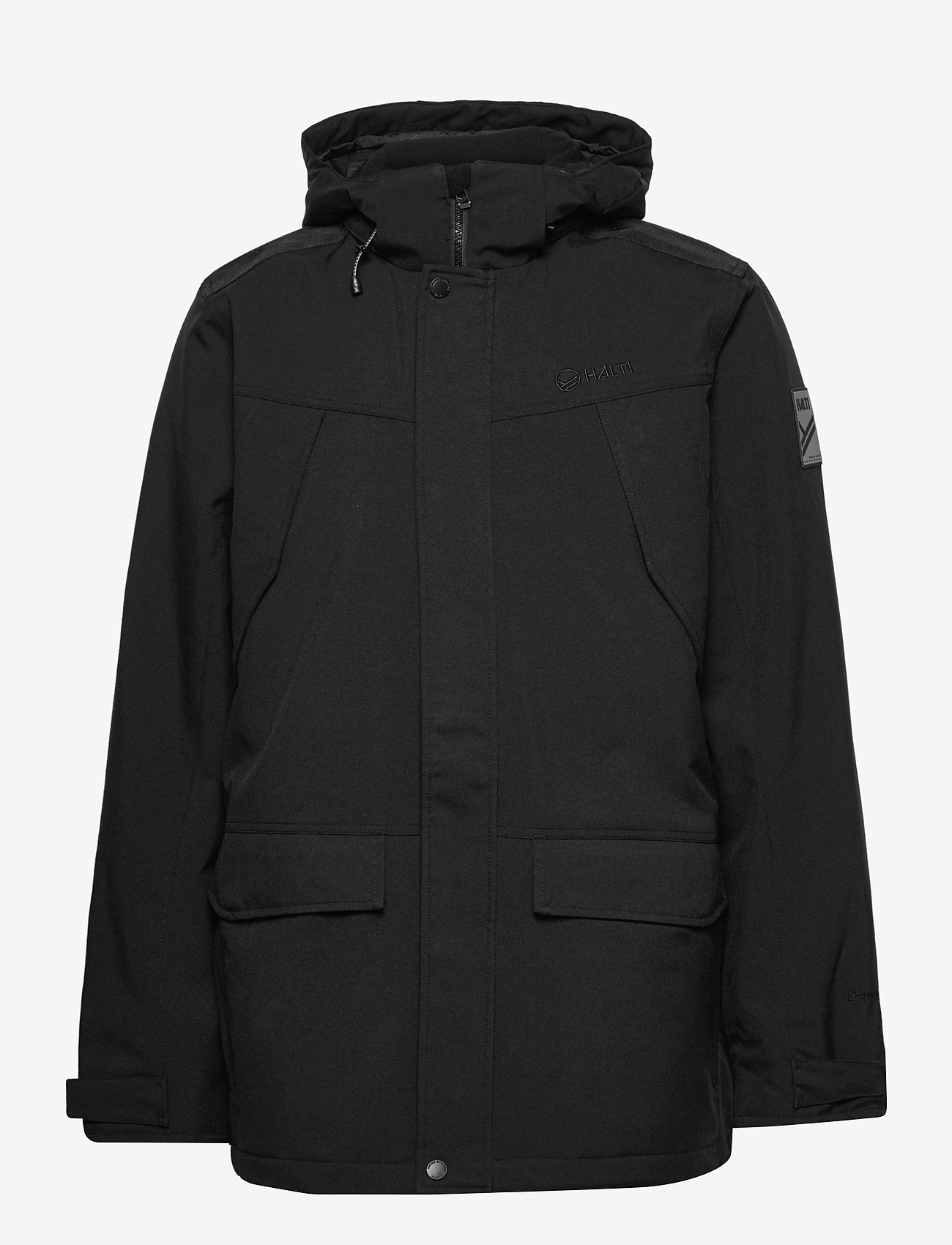 Halti - Luosto Men's Warm parka jacket - parkas - black - 1