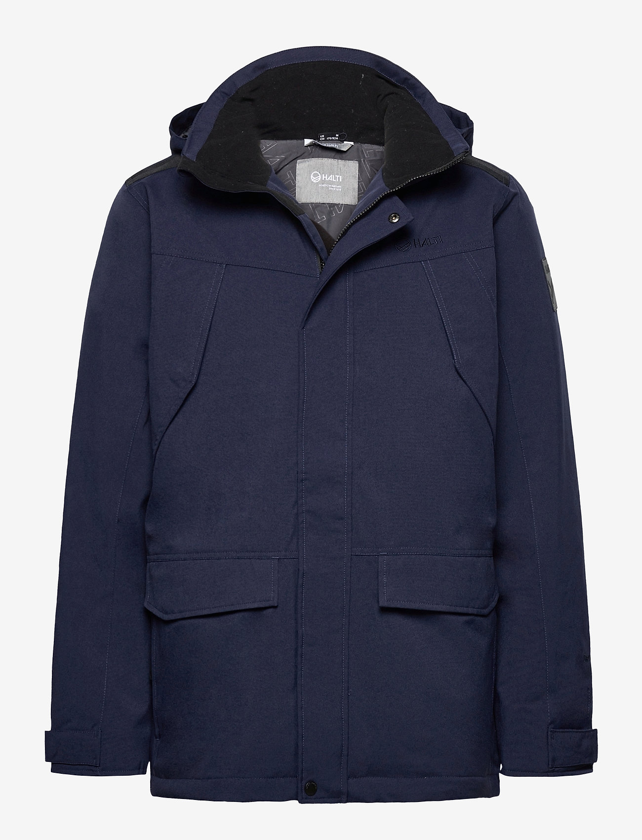 Halti - Luosto Men's Warm parka jacket - parkas - peacoat blue - 0