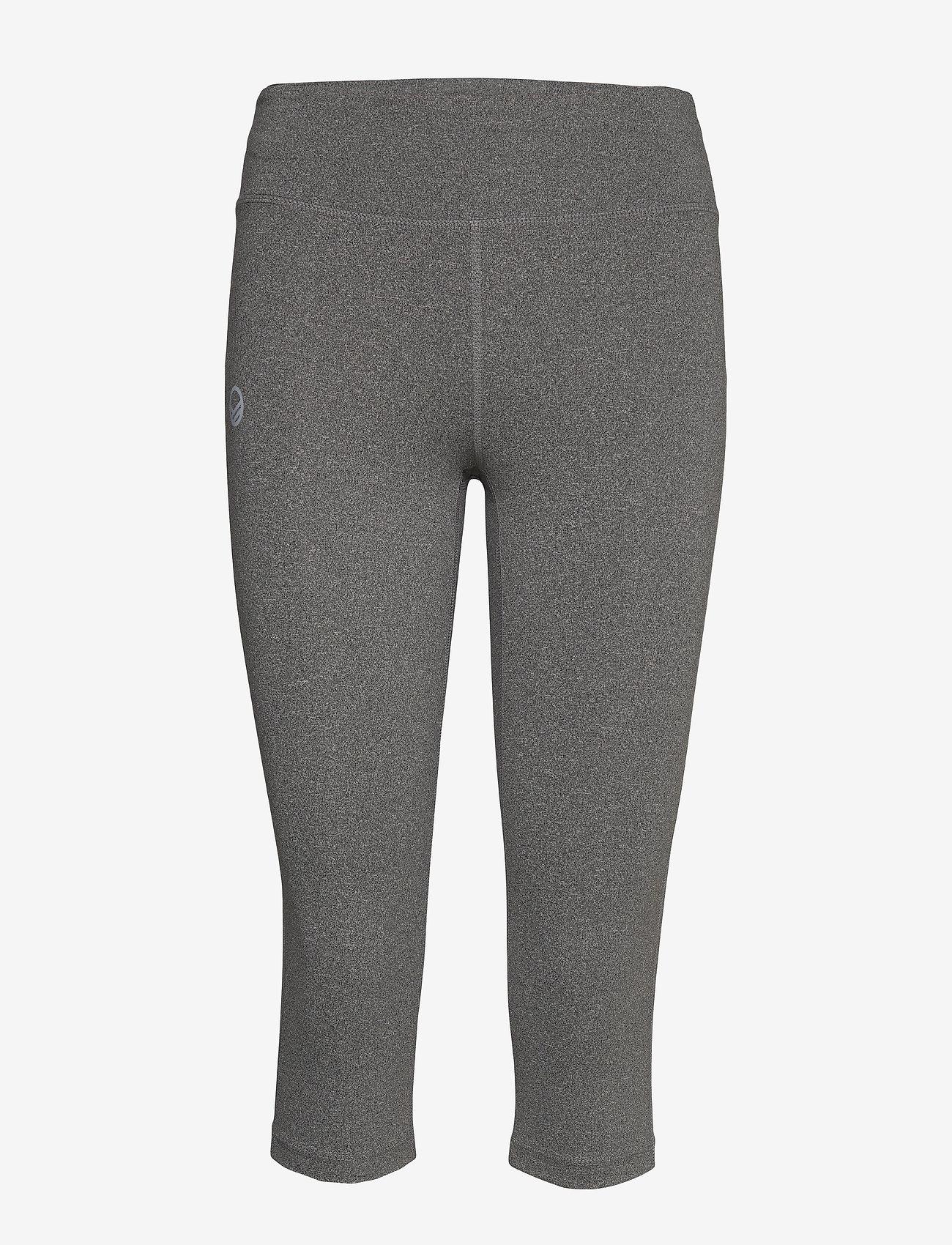 Halti Kauno Women's Capri Tights - Leggings & Granite Grey Melange