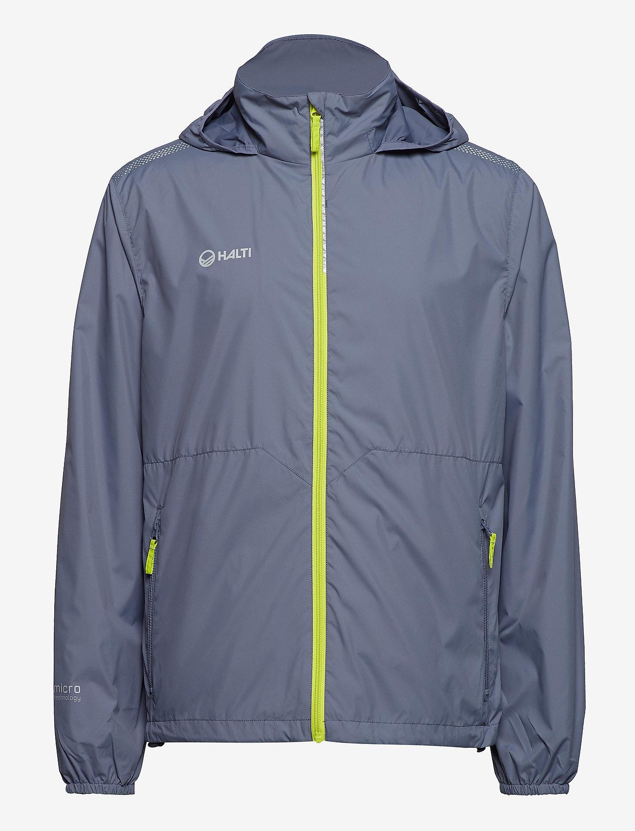 Halti - Kaiku M Jacket - vestes d'extérieur et de pluie - folkstone grey - 1