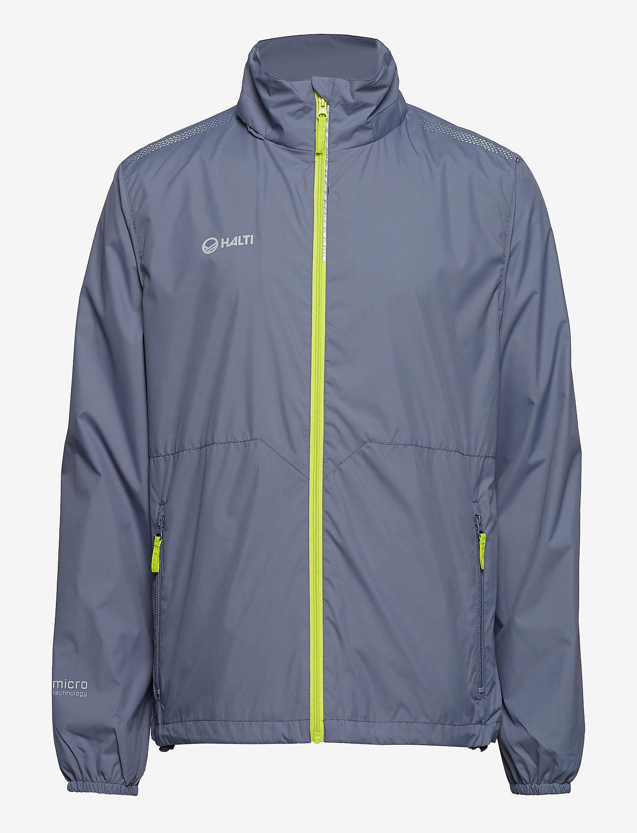 Halti - Kaiku M Jacket - vestes d'extérieur et de pluie - folkstone grey - 0