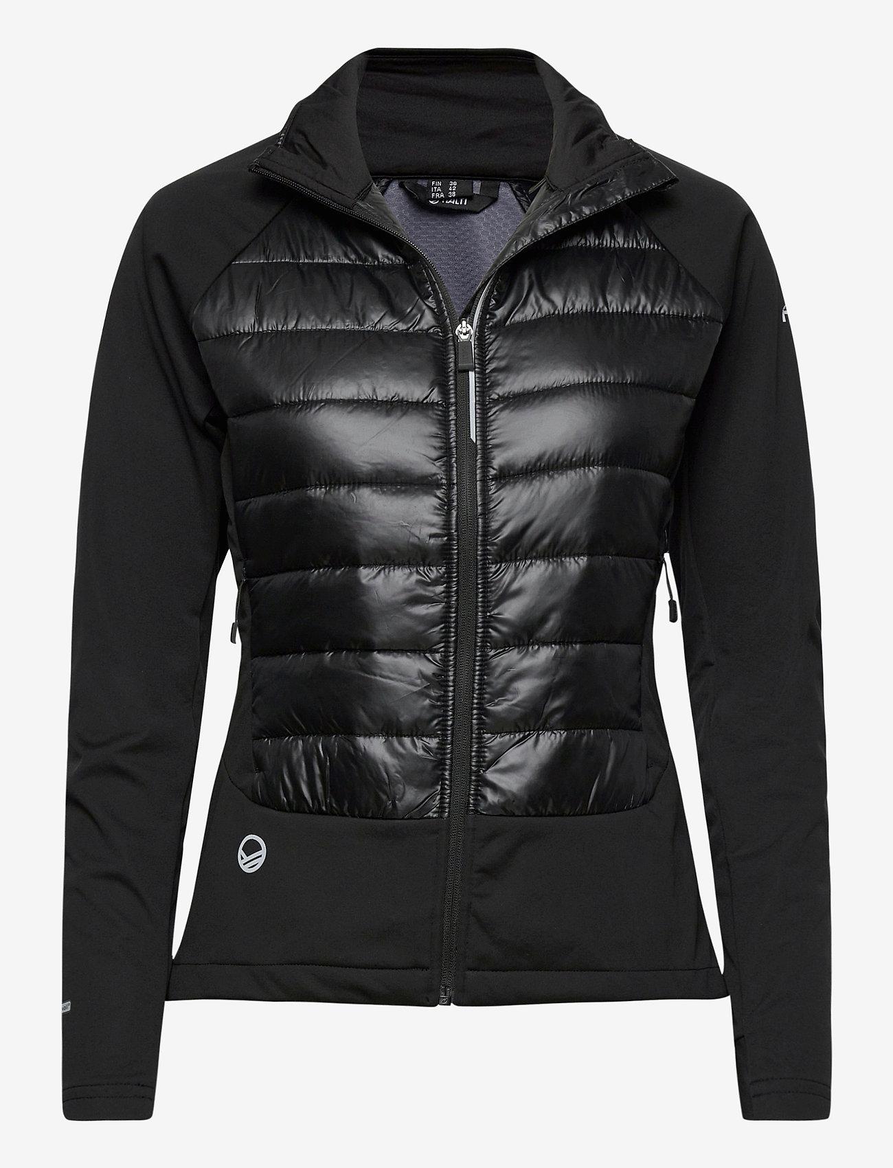 Halti - Olos Women's Hybrid Cross Country Ski Jacket - laskettelutakki - black - 0