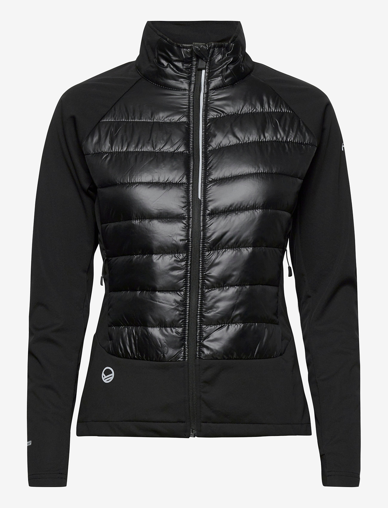 Halti - Olos Women's Hybrid Cross Country Ski Jacket - vestes d'entraînement - black - 1